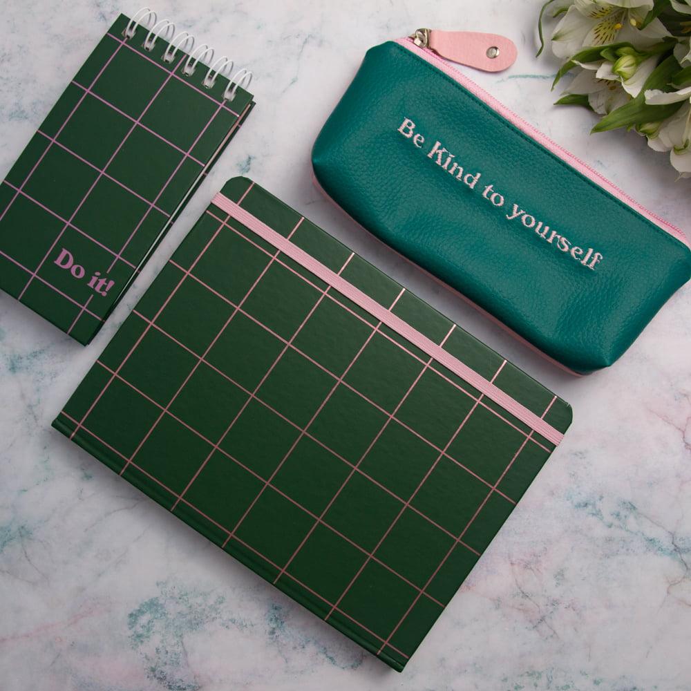Kit Feelings! - Verde e Rosa