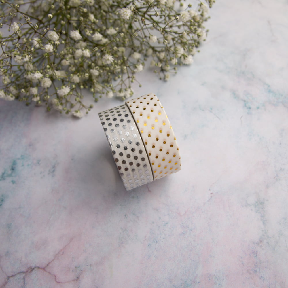 Dupla de Washi Tapes Dots