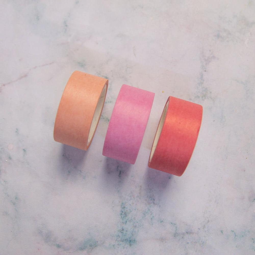 Trio de Washi Tape Colors - Candy