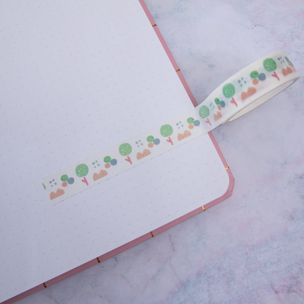Washi Tape Forest