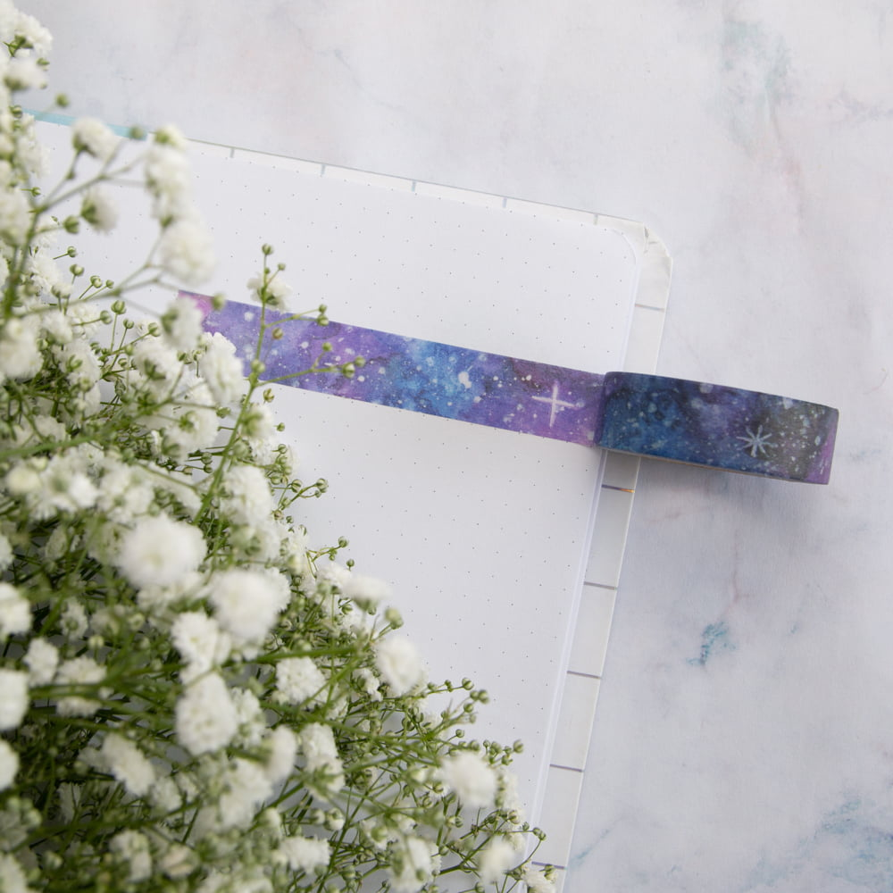 Washi Tape Galaxy