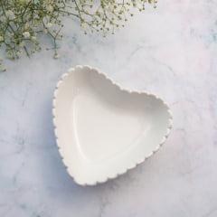 Pratinho White Heart