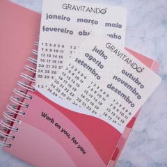 PRÉ VENDA: Kit Planner + adesivos de semestre