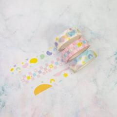 Trio de Washi Tapes Amebas