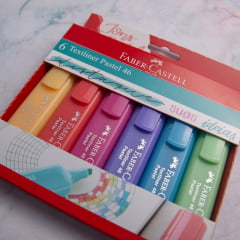Marca Texto Textliner 6 cores - Faber Castell