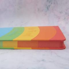 Caderno Pautado Rainbow