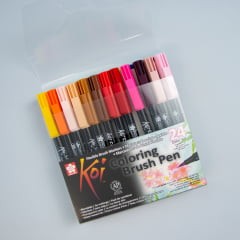Kit Brush Sakura Koi - 24 cores
