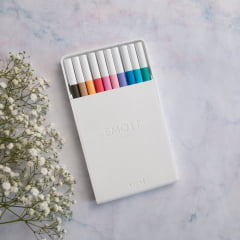 Kit Emott Soft Pastel Colors - 10 cores