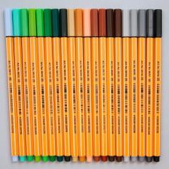 Kit Stabilo com 40 cores - point 88