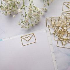 Clips Letter Dourado