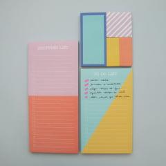 Kit Organização em Listas + Post-its