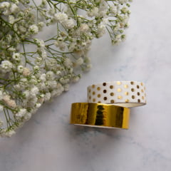 Dupla de Washi Tapes Golden
