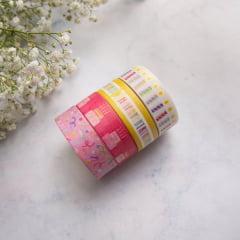 kit de Washi tapes Bday Colorful