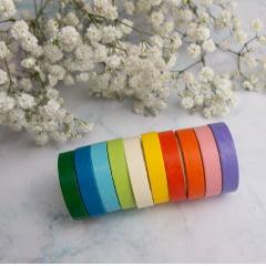 Kit de Washi Tapes Rainbow