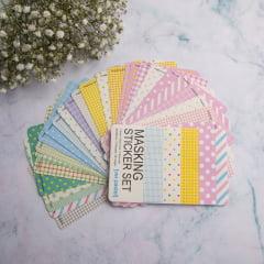Masking Sticker Set Pastel