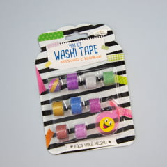 Mini kit Washi Tape de glitter