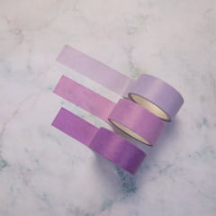 Trio de Washi Tape Colors - Purple