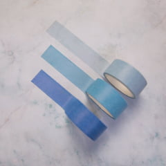 Trio de Washi Tape Colors - Sky