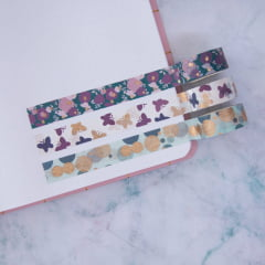Trio de Washi Tapes Butterfly