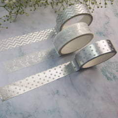 Trio de Washi Tapes Flowers