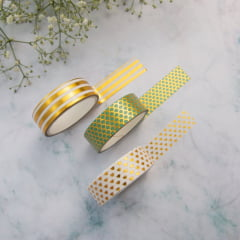 Trio de Washi Tapes Mint Mermaid - II