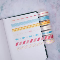 Trio de Washi Tapes - MODELO SORTIDO