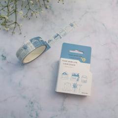 Washi Tape Doodle Blue
