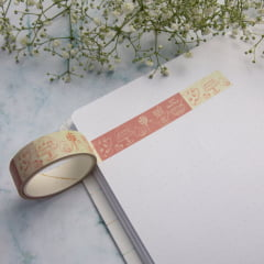 Washi Tape Doodle Orange
