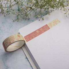 Washi Tape Doodle Rose