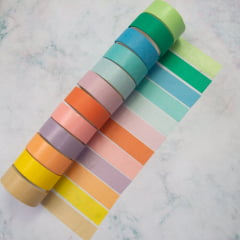 Washi Tape Pastel Rainbow - Large