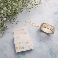 Washi Tape Watercolor Candy