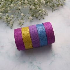 Washi Tapes Glitter Floral