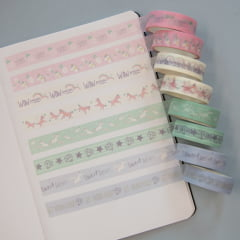 Washi tapes Unicórnio
