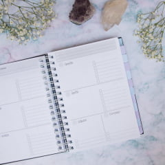 Kit Planner Moonchild + Adesivo Semestre + Adesivo Divisórias